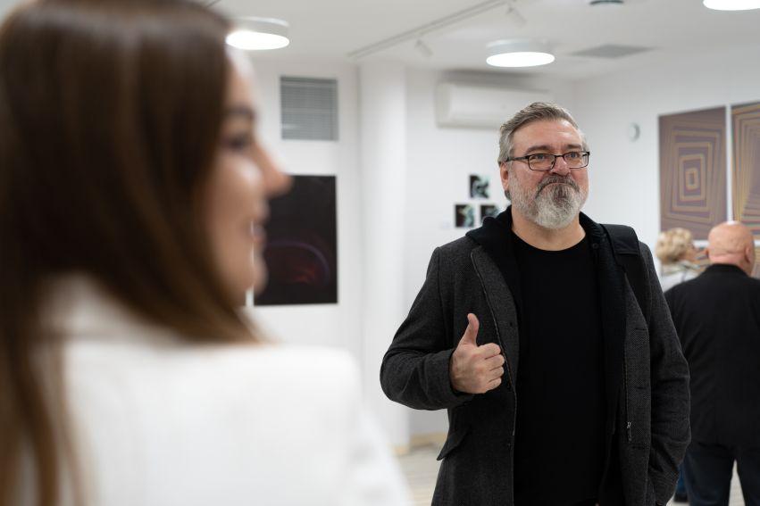 """Wernisaż wystawy """"W piżamach tworzone / Cyfrowa Kronika..."""