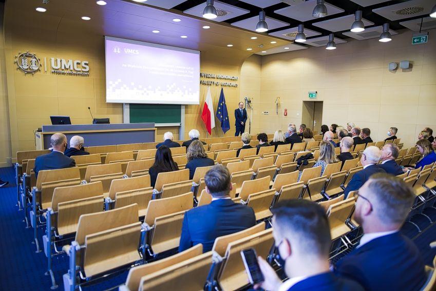 Uroczystości na Wydziale Ekonomicznym UMCS