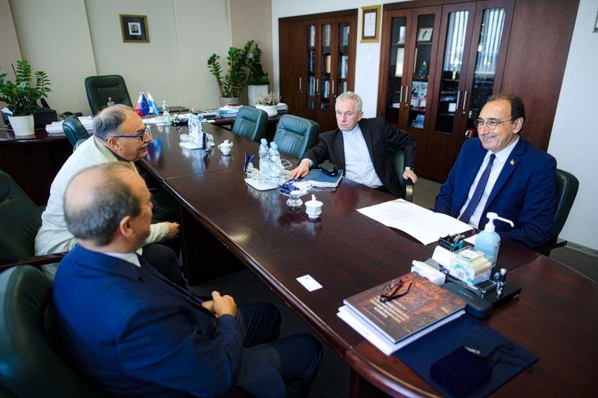 Wizyta Pełnomocnika Rządu Regionalnego Kurdystanu w Polsce