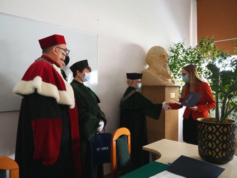 Uroczysta immatrykulacja studentów 2021/2022