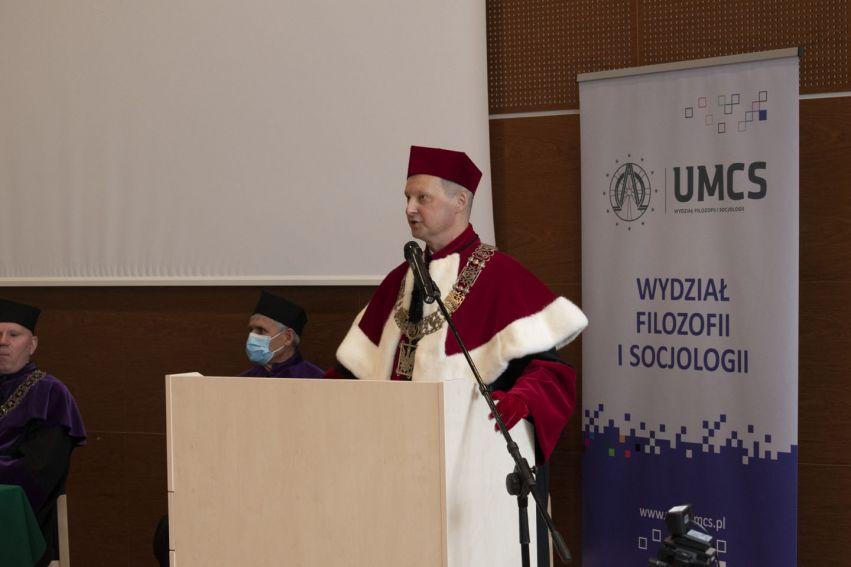 Immatrykulacja na Wydziale Filozofii i Socjologii, rok 2021