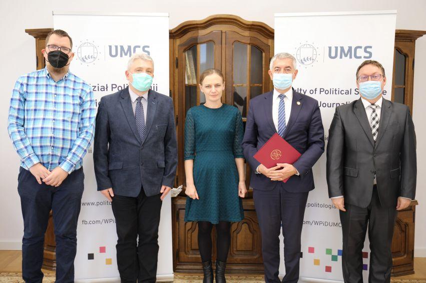Umowa partnerska z IX LO - Lublin