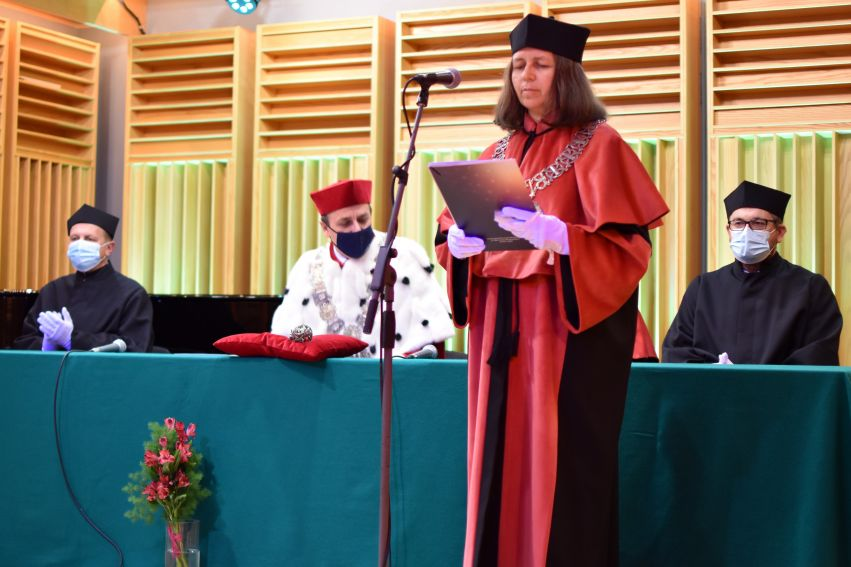 Immatrykulacja studentów na Wydziale Artystycznym
