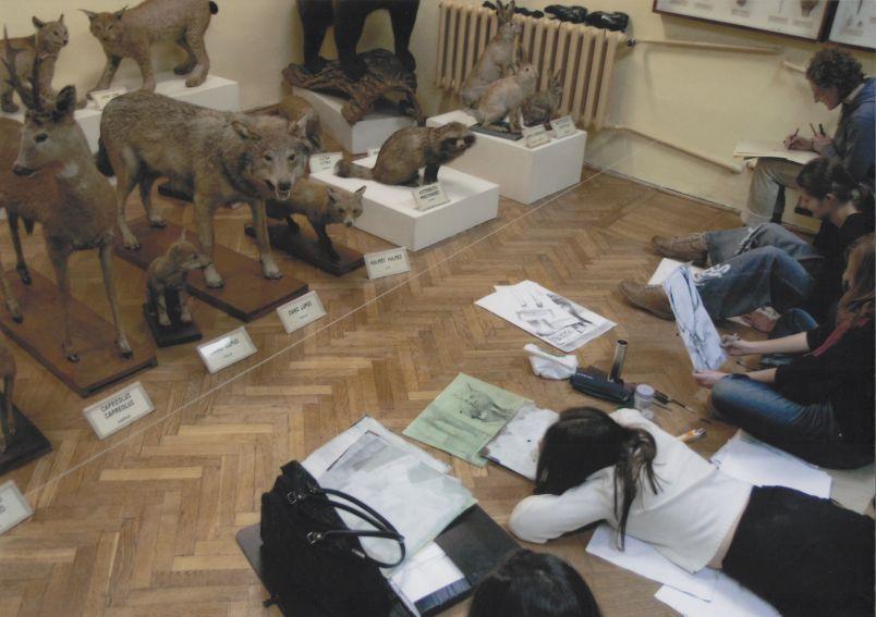 Zajęcia studentów Wydziału Artystycznego UMCS