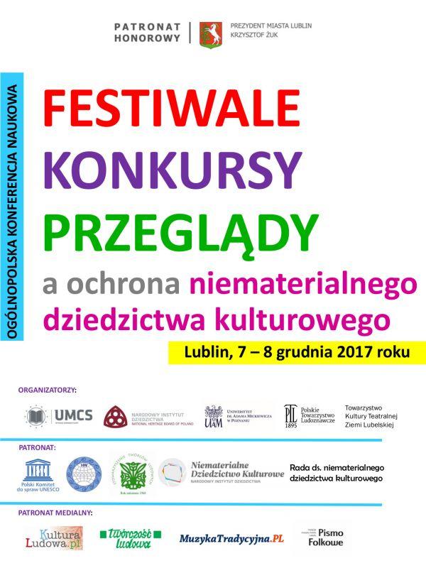 Zaproszenie Na Konferencję Festiwale Konkursy Przeglądy