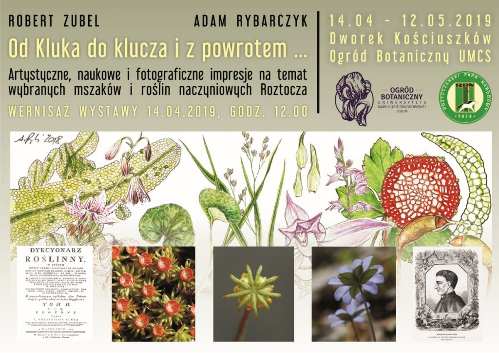 Wystawy Na Otwarcie Ogrodu Botanicznego Umcs Kwiecień