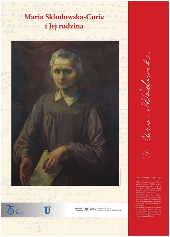 Plakat wystawy Maria Skłodowska-Curie i jej rodzina.jpg