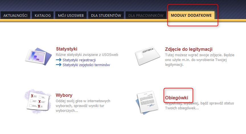 Elektroniczna Obiegowka Instrukcje Dla Studentow Doktorantow
