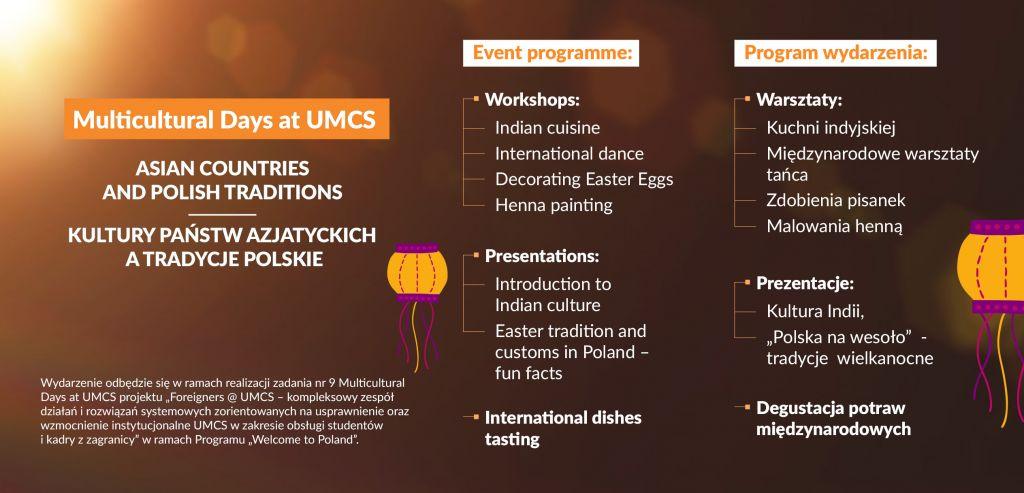 Multicultural Days At Umcs Kwiecień 2019 Aktualności