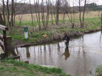 Pomiary przepływu na Wieprzu w Guciowie