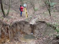 Scanning of the gully