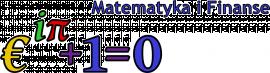 Logo kierunku MATEMATYKA i FINANSE