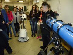 Pokaz teleskopów