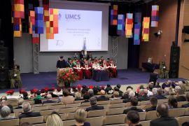 Uroczysta inauguracja roku akademickiego 2014 - 2015...