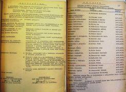 Protokół Rady Wydziału Przyrodniczego w sprawie ustalenia...