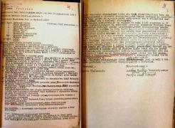 Drugie posiedzenie Rady Wydziału Humanistycznego 15 X 1952.