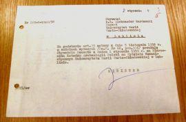 Nominacja doc. Aleksandra Gardawskiego na kierownika...