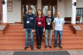 Przed budynkiem Sympozjum, Fot. Veronika Ravska.JPG