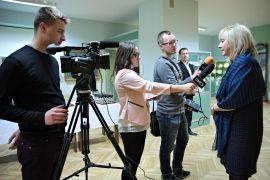 "Nagroda ""Angelus 2015"" dla prof. Urszuli Bobryk"