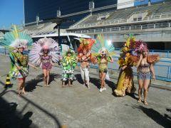 my w Rio na Sambodromie.JPG
