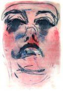 5_AUTOPORTRET 2, suchoryt, wypukłodruk, 100 x 70 cm,...