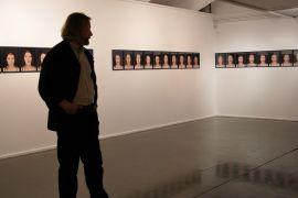 02 Danuta Kuciak, fragment wystawy 'Theatrum',...