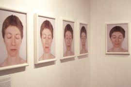 04 Danuta Kuciak, fragment cyklu 'Kod', wystawa...
