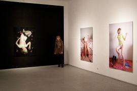 13 Danuta Kuciak, fragment wystawy 'Poplife',...