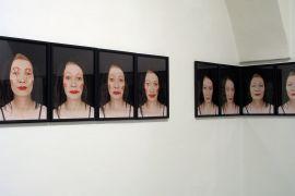 16 Danuta Kuciak, fragment wystawy 'Maski',...