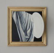 Talerzyk dla Cezanne'a (z cyklu Talerzyki), akryl na...