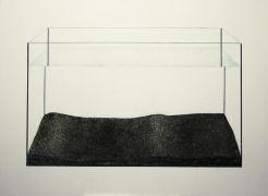 Małgorzata Pawlak Akwarium1 100 x 140 cm 2014 akryl na...
