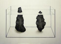 Małgorzata Pawlak  Akwarium3 100 x 140 cm 2014 akryl na...