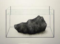 Małgorzata Pawlak Akwarium2 100 x 140 cm 2014 akryl na...