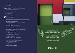 invitation III MIĘDZYNARODOWE BIENNALE FOTOGRAFII Space...