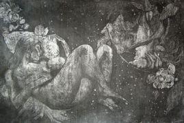 Natasza Kwiatkowska, Ilustracje do snów- cykl grafik,...
