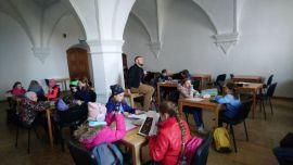 IH_KMH UMCS_wycieczka, w Sali Unii Lubelskiej u...