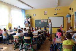 IH_KMH UMCS_wycieczka, w Szkole Podstawowej nr 38 w...