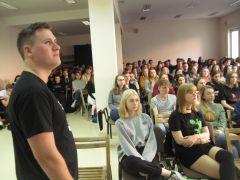 5. Jurij Seniuta i 130-osobowa publiczność