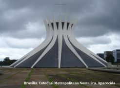 Brasília. Catedral Metropolitana Nossa Sra. Aparecida...