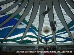 Brasília. Catedral Metropolitana Nossa Sra. Aparecida Fot...