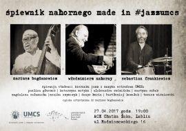 1 Śpiewnik nahornego made in #jazzumcs plakat.jpg