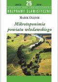 M. Olejnik Mikrotoponimia pow. wlodawskiego 2014.jpg