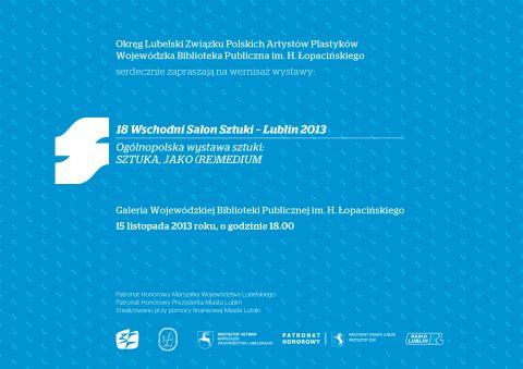 18 Wschodni Salon Sztuki Lublin 2013 wystawa