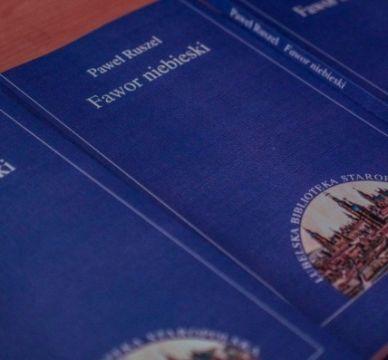 """Spotkanie promocyjne książki """"Fawor niebieski"""" - relacja"""