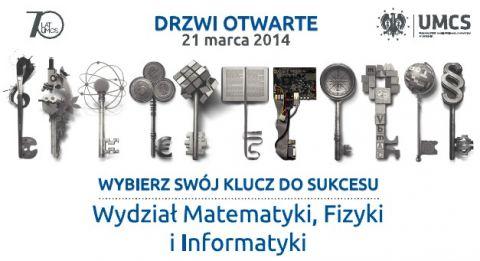 Drzwi Otwarte UMCS 2014 na Wydziale Matematyki, Fizyki i...