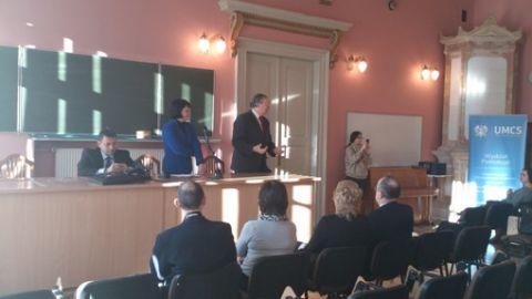 Spotkanie z Angeliką Borys, Przewodniczącą Rady Naczelnej...