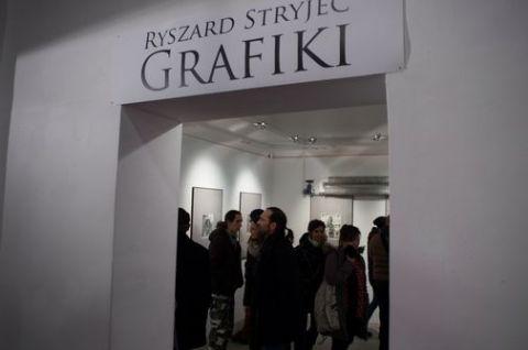 Wernisaż grafik Ryszarda Stryjca