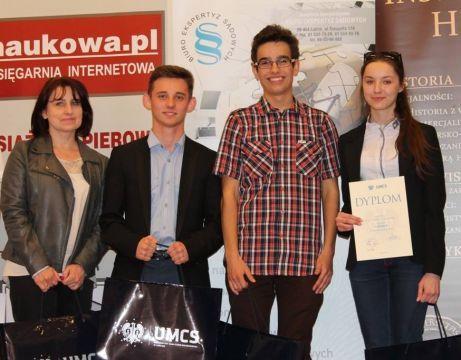 Konkurs wiedzy o UMCS - relacja