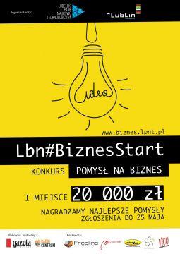 Konkurs - Lbn#BiznesStart