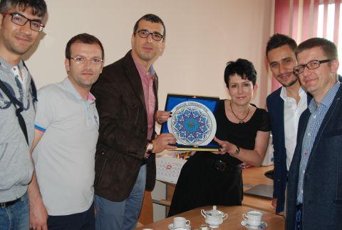 Wizyta wykładowców z z Selçuk University w Konya (Turcja)